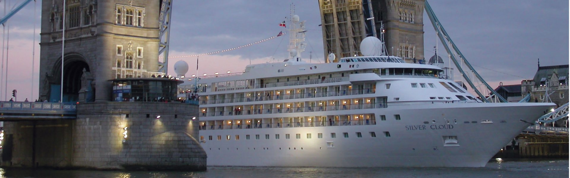 Cruise Ship in Europe SilverSeas Silver Cloud