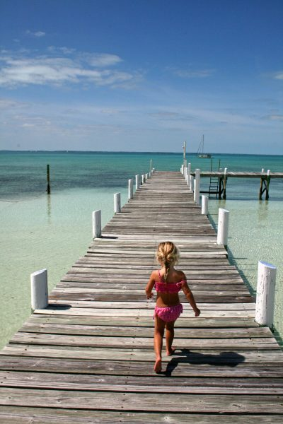 Tropical travel destination - Guana Cay The Bahamas